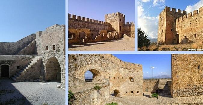 Крепость Древней Греции